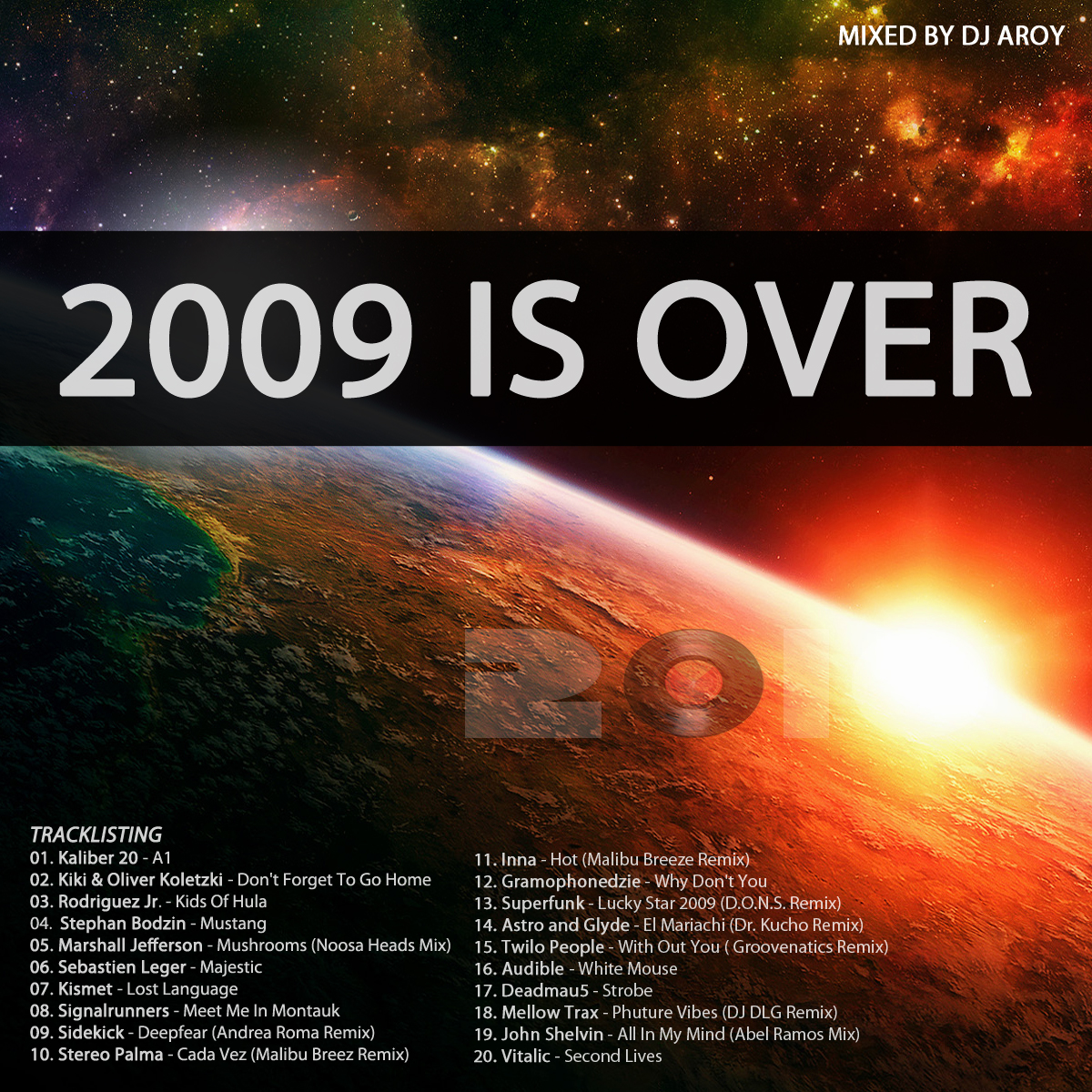 2009 is over - Best of electronic music 2009