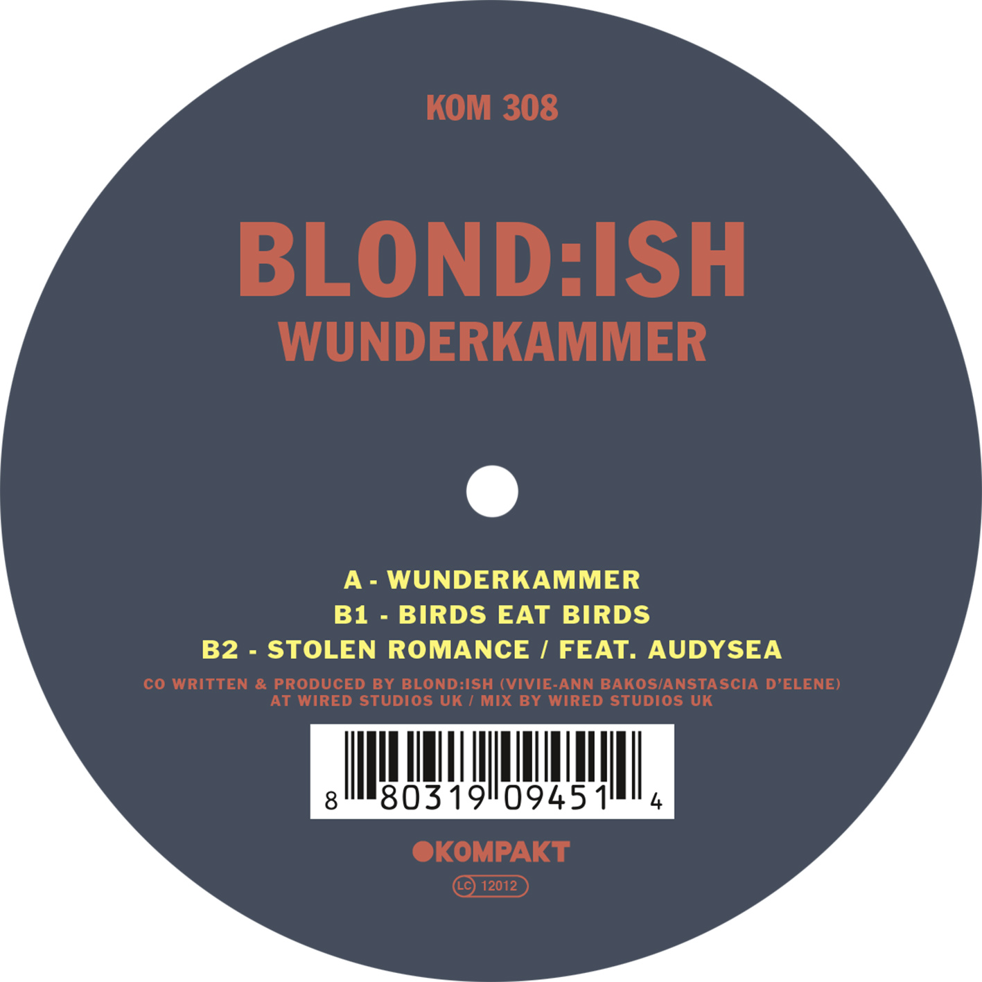 Blondish - Wunderkammer EP