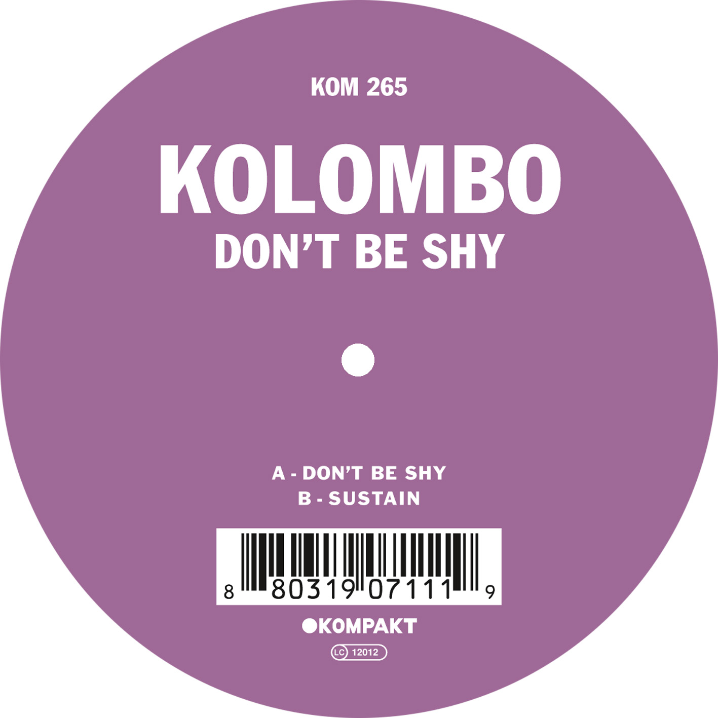 Kolombo - Don t be shy EP