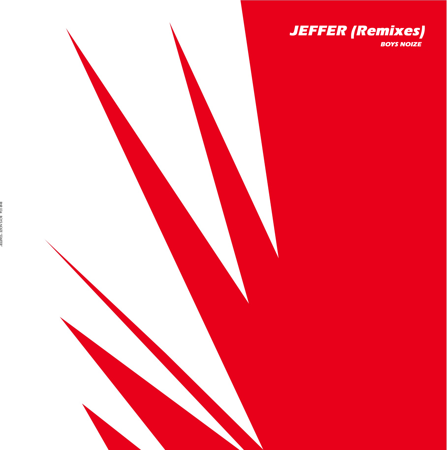 Boys Noize - Jeffer (Remixes)